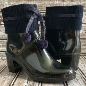 Marc by Marc Jacobs Blue Short Rain Boots Sz 8